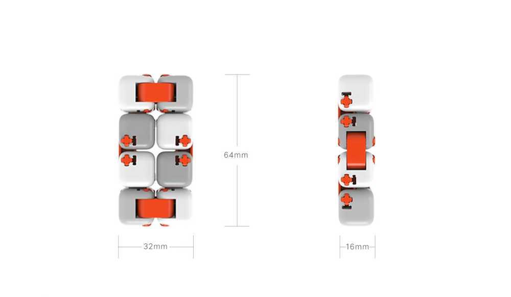 Xiaomi Mi Bunny Mitu Fidget Building Blocks Stress Reliever Focus Gift Toys - White