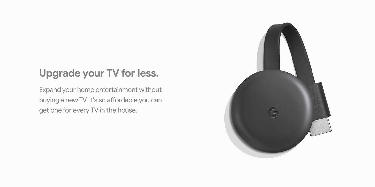 Google Chromecast 3rd Gen - NEW