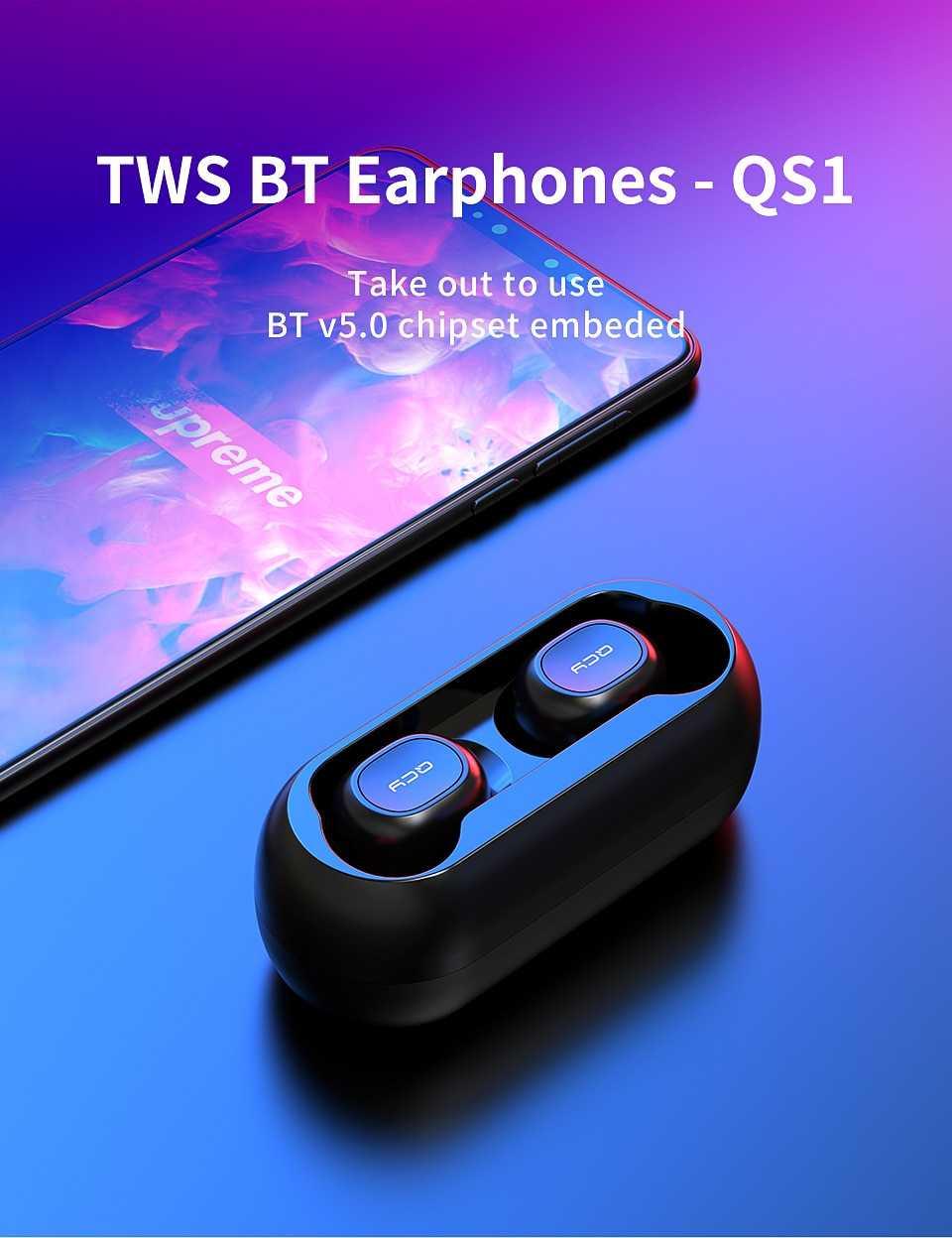 QCY T1 T1C True Wireless Earbuds