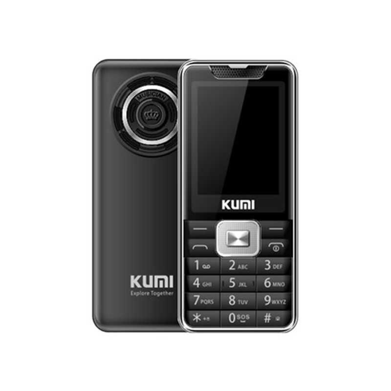 Kumi Mi1 English Version Infrared Thermometer Function Phone Black 906470 . W500 副本