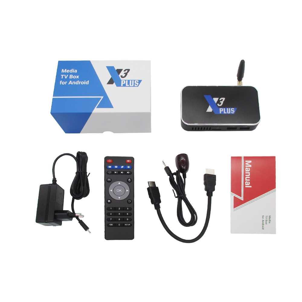 Ugoos X3 Plus Android 9 0 Smart Tv Box Amlogic S905x3 Set Top Box 4gb Ddr4 (3)