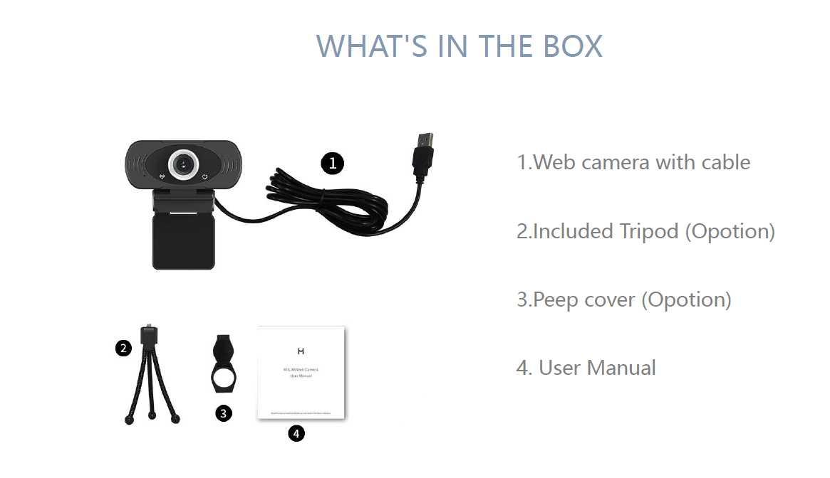 Xiaomi Imilab Web Camera4