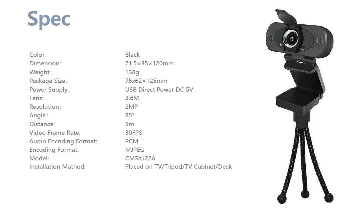 Xiaomi Imilab Web Camera5
