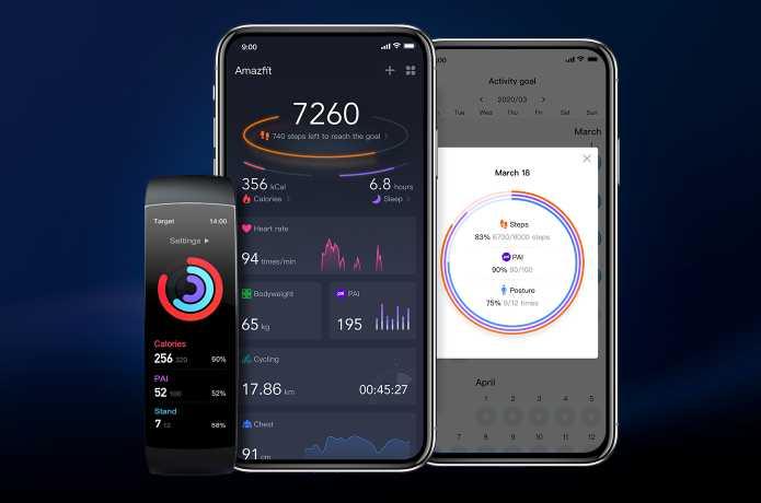Amazfit X Curved Smartwatch