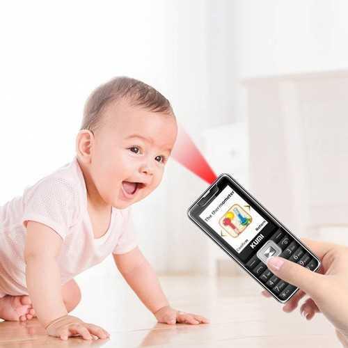 Kumi Mi1 Global Version Infrared Thermometer Function Phone Black 1592040203920. W500