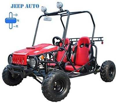 TAO TAO Jeep Auto Style 110cc Engine Gokart