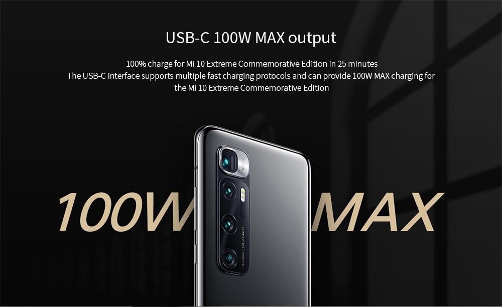 Xiaomi CC07ZM Car Charger USB-C 100W MAX output