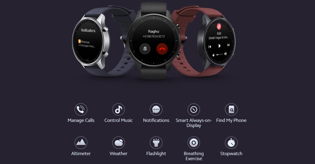 Mi Watch Revolve XMWT06 Global Supply